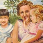 """Sur Les Plaines D""""Abraham Avec Maman"""